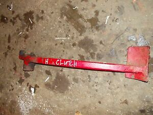 Farmall H Early Sh Tractor Original Ih Clutch Pedal
