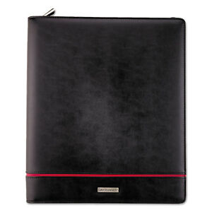 At a glance Day Runner Deco Refillable Planner 8 1 2 X 11 Black