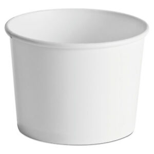 Chinet Paper Food Containers 64oz White 25 pack 10 Packs carton
