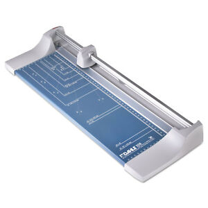 Dahle Rolling rotary Paper Trimmer cutter 7 Sheets 18 Cut Length