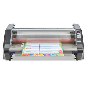 Gbc Ultima 65 Thermal Roll Laminator 27 Wide 3mil Max Document Thickness
