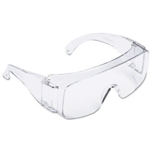 Tour Guard V Safety Glasses One Size Fits Most Clear Frame lens 20 box