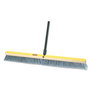 Fine Floor Sweeper Polypropylene Fill 36 Brush 3 Bristles Gray 2 carton
