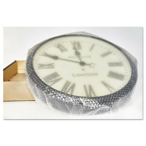 Bubble Wrap Cushioning Material 3 16 Thick 24 Slit 48 X 300 Ft