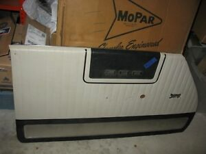 Mopar 1963 Chrysler 300 Black And White Door Panel