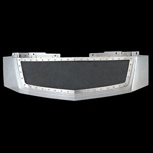 07 14 Cadillac Escalade Grille Rivet Chrome Stainless Steel Mesh W Abs Shell