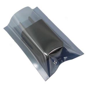 Anti static Shielding Open Top Bags Various Sizes Esd Electronic Storage Pouches