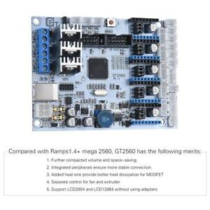 Gt2560 Main Controller Board Replacement Mega 2560 ultimaker ramps 1 4 Kit A4d8