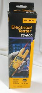 Fluke T5 600 Voltage Continuity And Electric Current Tester New