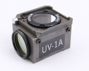 Nikon Uv Uv 1a Dm400 Fluorescence Filter Cube Microscope Diaphot Optiphot
