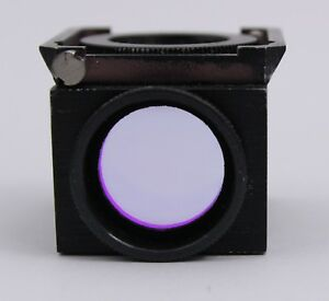 Nikon Fitc Texas Red Dual Band Fluorescence Filter Cube Microscope Optiphot