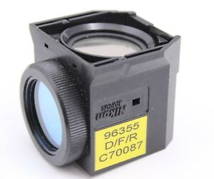 Nikon D F R Triple Band Fluorescence Filter Cube Uv Dapi Fitc Te2000 Eclipse Ti