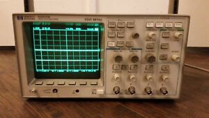 Hp 54602b 4 channel 150 Mhz Oscilloscope With 54659b Module