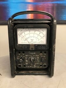 Simpson 260 Analog Multi Meter Vintage