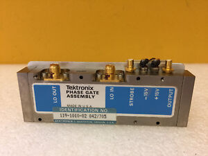Tektronix 119 1010 02 Phase Gate Assembly For 492 494 Analyzers Tested