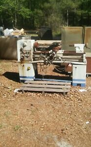 Lathe Sold For Parts Very Rusty C p Tools Inc