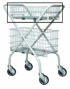 Lumex Versacart Folding Utility Cart Case Of 2 baskets Not Included
