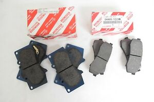 Genuine Toyota 4runner 2003 2017 Front And Rear Brake Pad Sets Oem