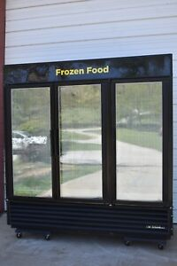 True Gdm 72f Glass Door Merchandiser Freezer