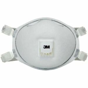 3m 8212 N95 Particulate Respirators W face Seal Cool Flow Valve 10 pack