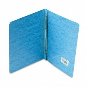 Acco Pressboard Report Cover Prong Clip Letter 3 Capacity Light Blue