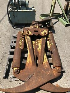 Log Skidder Grapple Esco 100 Knuckle Boom Attachment Claw