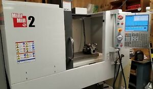 Haas Mini Mill 2 With Tooling 4th Axis Year 2013 Video Available