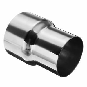 3 0 Id To 2 5 Od Exhaust Pipe Reducer Adapter Connector 304 Stainless Steel