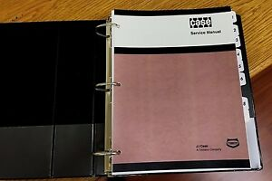 Case 680 Backhoe Loader Service Repair Workshop Manual Binder Prior Sn 9101501