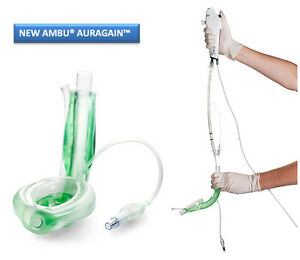 Disposable Laryngeal Mask Airway Ambu Auragain pack Of 2 Pieces Free Shipping