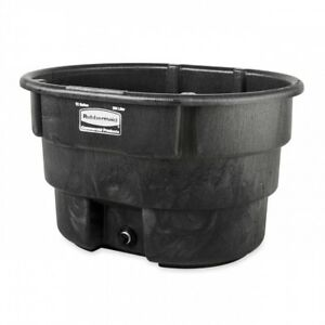 Plastic Water Container Stock Tank Weather Resistant Farm Horse Livestock Feeder