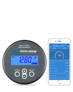 Victron Energy Bmv 712 Smart Battery Monitor With Bluetooth Bam030712000