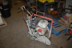 Honda Powered Concrete Cutting Machine gx390 13hp for 14 wheel Inv 26896