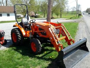 Kioti Ck3510 Compact Tractor W Loader New Leftover Only 10 Hrs 4x4 Diesel