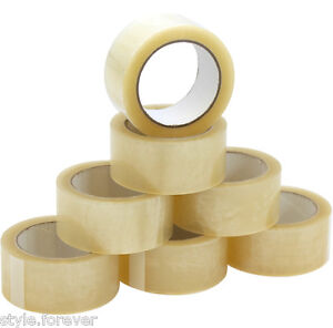 36 Rolls 2 x110 Yards 330 Ft box Carton Sealing Packing Shipping Package Tape