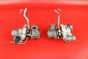 2008 2014 Bmw 750i Li F01 Right Left Twin Turbo Charger 4 4l