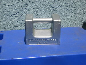 Antique vtg Fairbanks morse Calibration Weight 25lb Scale Calibration Tool