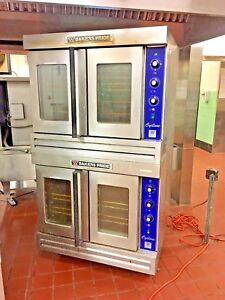 Bakers Pride Cyclone Convection Oven Double Deck Electric