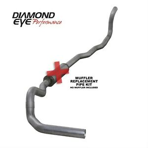 Diamond Eye K4211a rp Turbo back Exhaust System 89 93 Dodge Cummins 5 9l Diesel