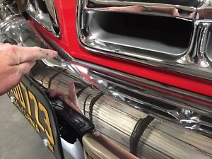 1955 1956 Chrysler 300 Front Clip Grill Stainless Trim Chrome