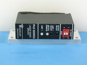 New Wavelength Electronics Pld5000 Series 5 Amp Laser Diode Driver Tested