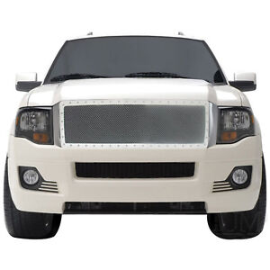 07 14 Ford Expedition Grille Rivet Chrome Stainless Steel Wire Mesh Grille Grill