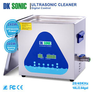 Dksonic 10l Digital Ultrasonic Jewelry Cleaner For Parts Eyeglass Circuit Board