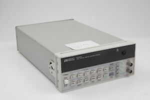 Hp agilent 33120a Function Arbitrary Waveform Generator 15 Mhz Missing Knob