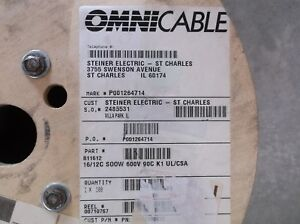 Omnicable 16 Awg 12c 90 Wire
