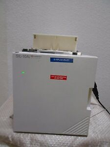 Shimadzu Sil 10ai Hplc Automatic Sample Injector W 100 Vial Tray Nice And Clean