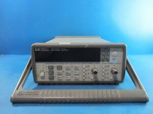 Hewlett Packard Hp 53131a Universal Frequency Counter Used