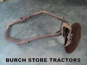 Official Ih Farmall Cub Belly Mount Disc Plow With Scraper
