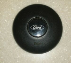 Ford Courier Steering Wheel Horn Button Black 1977 1981 Sport Model Nice Used