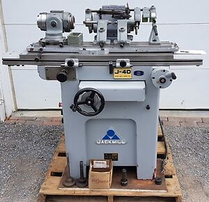 Jackmill Tool And Cutter Grinder Sharpener End Mill Drill Makino Jet